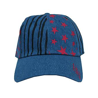 Birds Of Prey Baseball Cap Harley Quinn Stars & Stripes Official Washed Denim