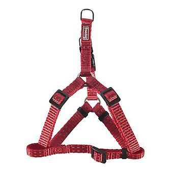 Freedog Harness Nylon Reflect A Red (Dogs , Collars, Leads and Harnesses , Harnesses)