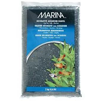 Marina Dekoratif Çakıl Siyah (Balık , Dekorasyon , Çakıl & kum)