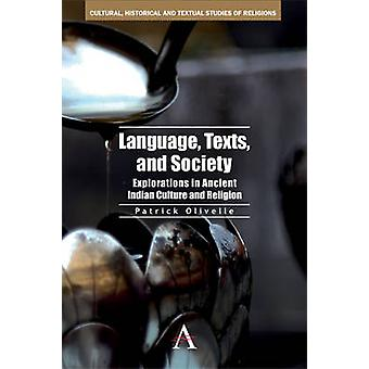 Language Texts and Society by Patrick Olivelle