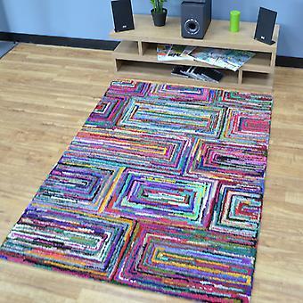 Katoen Chindi Galaxy veelkleurige tapijten 02