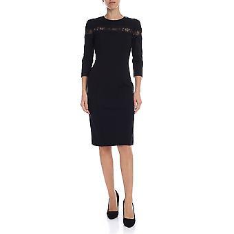 Twin-set 192tp209300006 Women's Black Viscose Dress