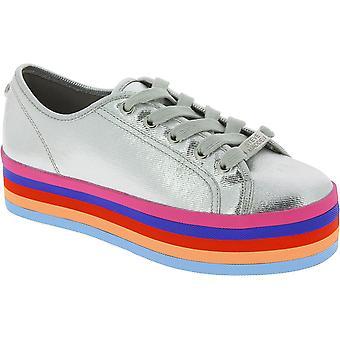 Steve Madden 910008230902714001 Kvinnor's Multicolor Tyg Sneakers
