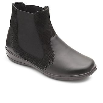 Padders Margot Womens Leather Ankle Boots