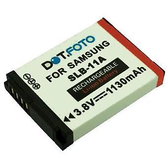Dot.Foto Samsung SLB-11A Replacement Battery - 3.8v / 1130mAh