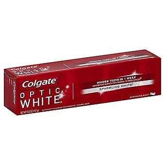 Colgate Optic White anticavity fluoridu zubná pasta, šumivé mäta, 5 OZ