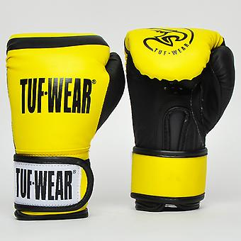 Tuf Wear Junior Training Gloves Yellow / Black