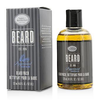 Beard wash peppermint essential oil 210518 120ml/4oz