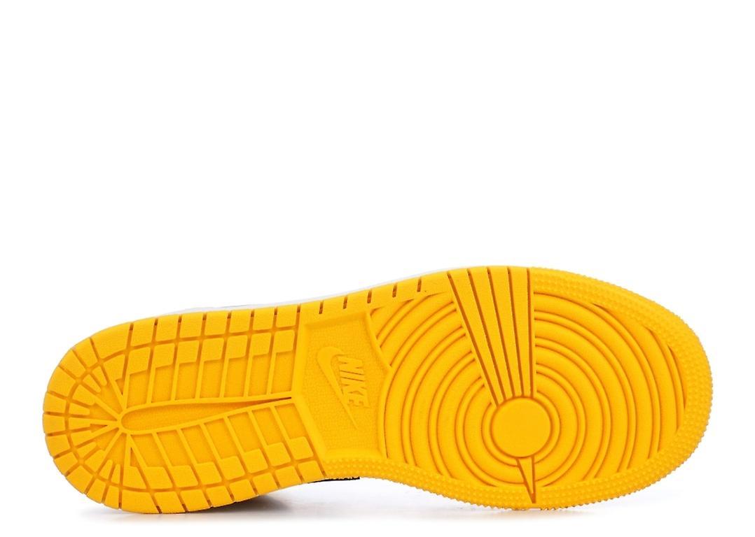 Air Jordan 1 Mid Se (gs) ' Lakers '-bq6931-700-sko