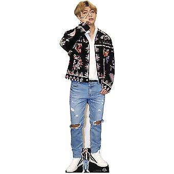 V de BTS Bangtan Boys Carton Découpe / Standee / Standup
