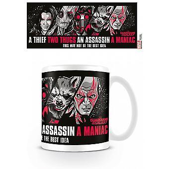 Guardians Of The Galaxy Guardians Mug