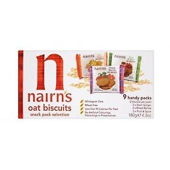 NAIRN'S OATCAKES - Oat Biscuit Portion Selection