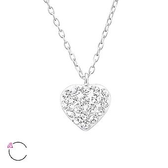 Heart - 925 Sterling Silver Necklaces - W32757x