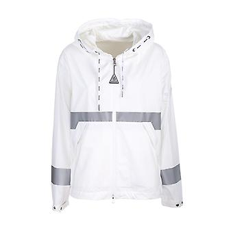 Moncler 1b7040054a91034 Men's White Polyester Outerwear Jacket