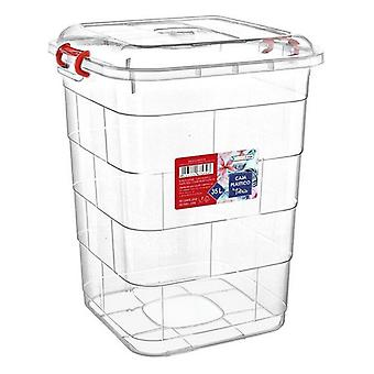 Storage Box with Lid Confortime/47 x 44 x 51 cm - 55 L