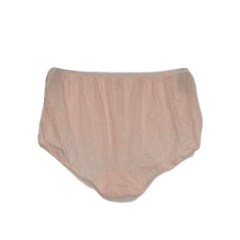 Unbranded Panties Soft Knit Briefs Light Orange