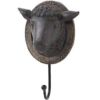 Hill sisätilat lampaan pää takki koukku