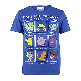 Pokemon Trainer Boys T-Shirt | Official Merchandise