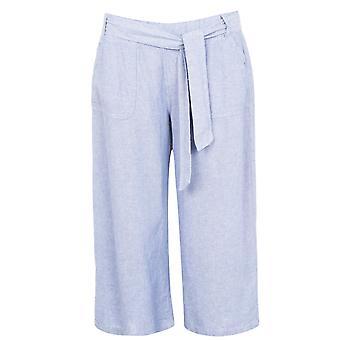 M Collection Womens Lin Crp Linen Shorts Bottoms Short Pants