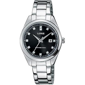 Lorus RJ243BX-9 Silver Tone With Crystals Wristwatch