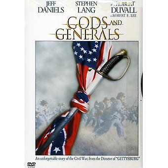 Guderne & generaler [DVD] USA importerer