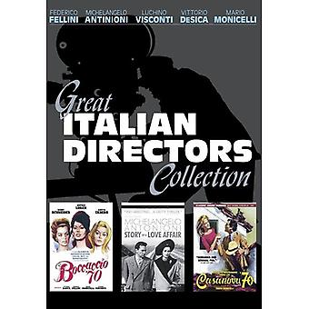 Great Italian Directors Collection [DVD] USA import