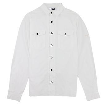 Stone Island 12010 Kledingstuk Geverfd Shirt Witte V0001