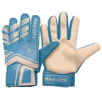 Manchester City Goalkeeper Gloves Yths