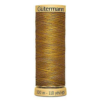 Gutermann 100% Natural Cotton Thread 100m Code couleur main et machine - 1056