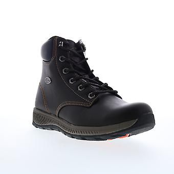 Lugz Hardwood  Mens Black Lace Up Casual Dress Boots