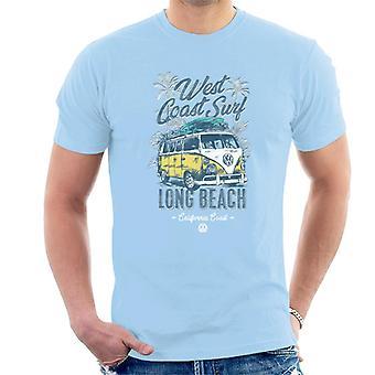 Volkswagen Long Beach California Coast Men's T-Shirt