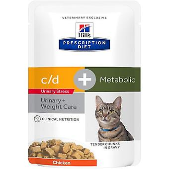 Hill's Prescription Diet Metabolic + Urinary Stress Feline (Cats , Cat Food , Wet Food)