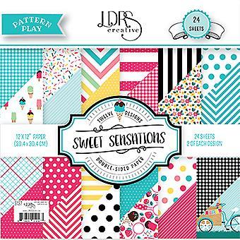 LDRS Creative Sweet Sensations 12x12 Inch Paper Pack