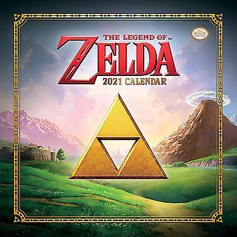 The Legend of Zelda Calendar 2021 Official Wall Calendar 2021, 12 months, original English version.