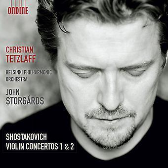 Shostakovich/Tetzlaff/Helsinki Phil Orch - Vln Cons 1 & 2 [CD] USA import