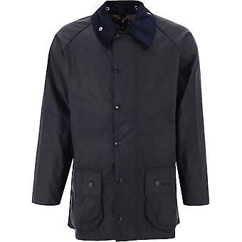 Barbour Mwx0017mwxny91 Män's Blue Cotton Outerwear Jacka