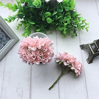Bouquet de fleur artificielle de stamen de soie pour la décoration de partie de mariage
