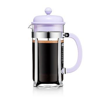 Bodum 8 Cup Cafetiere, Pastel Purple