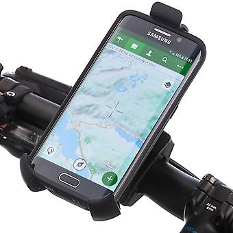 Strong secure smartphone holder bicycle handlebar mounting kit