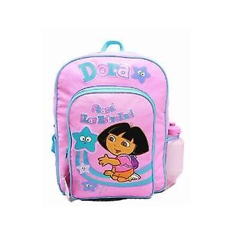 Backpack - Dora the Explorer - Stars w/Water Bottle (Large Bag) 20923