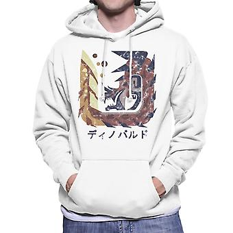 Glavenus Kanji Icône Monster Hunter World Men-apos;s Sweatshirt à capuchon