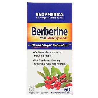 Enzymedica, Berberine, 60 Capsules