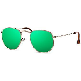 نظارات شمسية للجنسين الذهب / الأخضر (CWI2412)