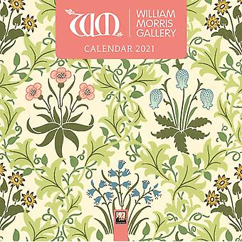 William Morris Gallery Mini Wall kalender 2021 Art Calendar door Gemaakt door Flame Tree Studio