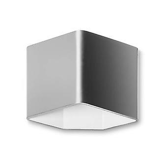 Leds-C4 Jet - LED 1 Lys indendørs væglys børstet aluminium