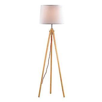Ideaal Lux York - 1 lichte vloerlamp hout, E27
