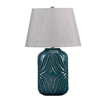 Elstead Muse Turqse - 1 lysbordlampe Turkis, E27