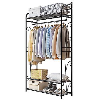Large Clothes Rail Hanging Coat Stand