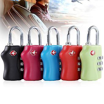 13*10*2mm Mini Portable 3 Dial Digit Combination Lock- Luggage Bike Padlock Suitcase Baggage Toolbox Cabinet Locks