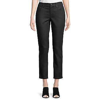 Eileen Fisher | Coated Skinny Ankle Jeans